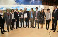 Page entrega al Ayuntamiento de Villanueva de los Infantes el certificado del récord Guinness por el Pisto Más grande del Mundo
