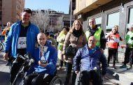 Llanos Navarro agradece a los 240 albaceteños que han participado en la IV Carrera benéfica del bario San Antonio Abad su solidaridad con las personas más vulnerables
