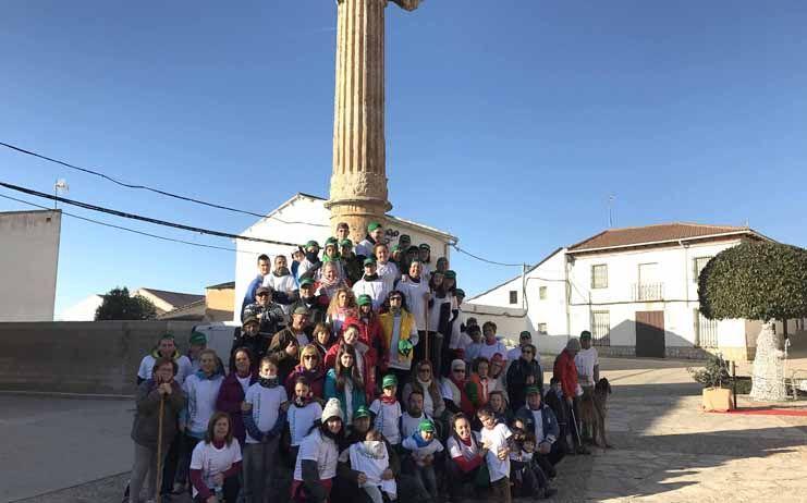 Fuentenovilla comienza deportiva y solidariamente el año