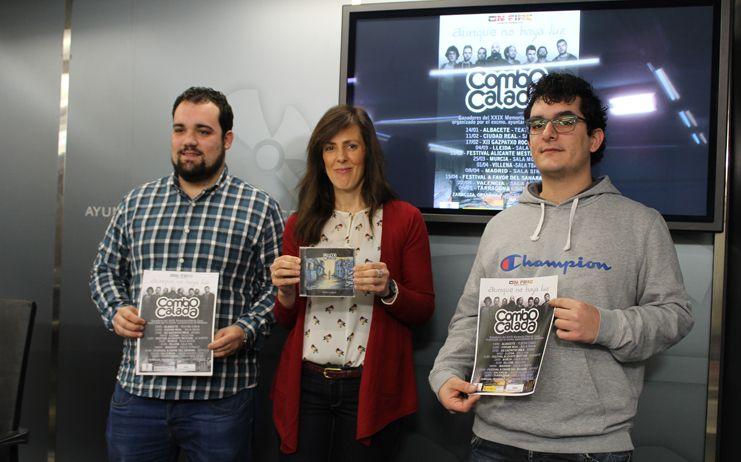 "Combo Calada ganador del XXIX Concurso de música moderna ""Memorial Alberto Cano"" en Albacete"