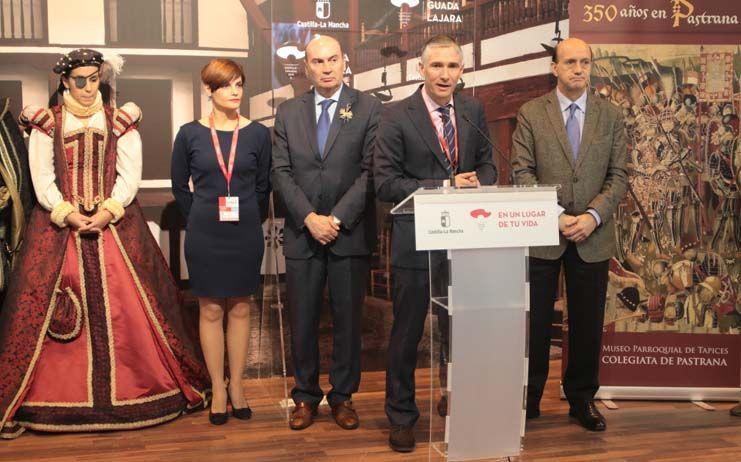 Pastrana presenta en FITUR su propuesta turística basada en la cultura y la defensa del patrimonio