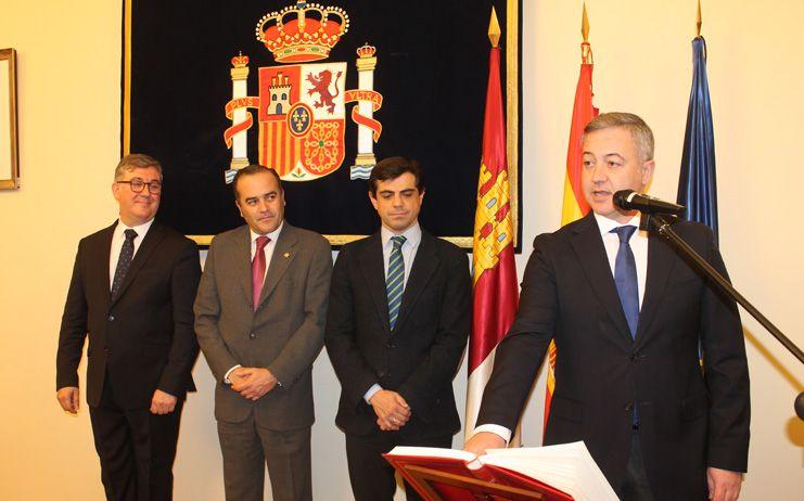 Gregorio asiste al acto de toma de posesión de Aquilino Iniesta como subdelegado del Gobierno en Albacete