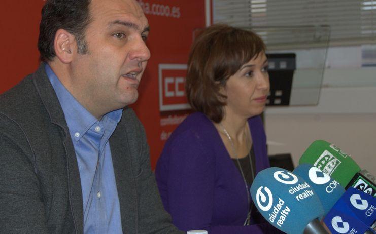 El secretario general de CCOO-Ciudad Real, José Manuel Muñoz,  optará a la reelección para un segundo mandato
