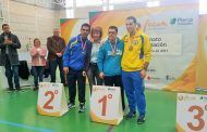 La diputada de Deportes de Albacete participa en la gala del XXI Campeonato Regional de Natación organizado por FECAM