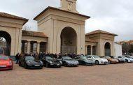 Concejales de Albacete reciben a un grupo de usuarios de Porsche