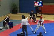 El taekwonista con discapacidad Aythami Santana termina cuarto en el campeonato absoluto de España