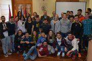 Deportistas universitarios recogen los premios del XXVI Trofeo Rector en el Campus de Toledo