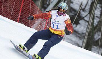 Astraid Fina afronta su segunda prueba en el mundial de Snowboard tras terminar quinta en el cross