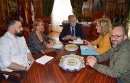 Ramos se ha reunido con la nueva directiva de la Asociación de Estilistas y Peluqueros de Talavera y Comarca