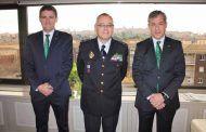 Caja Rural Castilla-La Mancha recibe al nuevo jefe superior de Policía