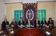 Caja Rural Castilla-La Mancha renueva su convenio con la Junta de Cofradías de Cuenca para fomentar la Semana Santa