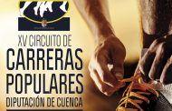 El Circuito de Carreras Populares 'Diputación de Cuenca' alcanza su XV edición con una veintena de pruebas