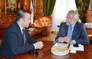 Ramos mantiene una reunión con la asociación Eatimes de Castilla-La Mancha