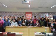Maribel Arias de Celis, reelegida por unanimidad responsable provincial de CCOO Servicios de Toledo