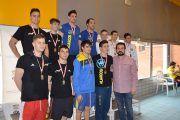 El director general de Juventud y Deportes asiste al campeonato regional de natación absoluto