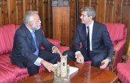 Ramos apela ante el presidente de la Diputación cooperación institucional para coordinar líneas de colaboración en materia de Turismo y Patrimonio