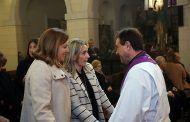 Tolón participa en la celebración religiosa de la Hermandad de la Virgen de las Angustias