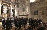Ayer, concierto benéfico de la Banda de Música de Sigüenza