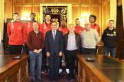 Diputación mantiene su respaldo al C.D. Basket Quintanar y a la promoción del baloncesto en Cuenca