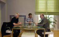 Latre se reúne con los alcaldes de Cubillejo de la Sierra, Castilforte, Tórtola y Valdesotos