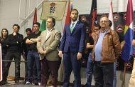 """José Luis Fernández abre """"los juegos de la comarca"""", que se celebrarán hasta el mes de junio"""