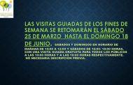 El Jardín Botánico de Castilla-La Mancha retoma mañana las visitas guiadas gratuitas de los fines de semana hasta el domingo 18 de junio