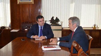 Reunión de trabajo con la Zona Franca de Cádiz