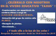 """La Diputación de Toledo se une a la celebración de a la """"hora del planeta"""" con actividades y apagando luces en el vivero """"taxus"""""""