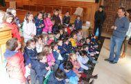 Escolares de infantil del Colegio Carmelitas de Toledo visitan la Diputación Provincial