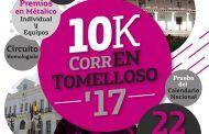 """Listo el cartel del """"10K CorrEN Tomelloso'17"""""""
