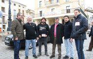 La Junta apoya a los municipios ribereños durante la primera protesta de la iniciativa 'Abraza tu embalse'
