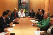Reunión de ASAJA de Cuenca, Soria y Teruel con diputados del PSOE por estas tres provincias para trasladar sus propuestas contra la despoblación