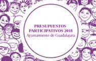 Mañana, último día para cumplimentar la encuesta sobre los Presupuestos Participativos de 2018 de Guadalajara