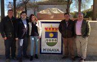Núñez mantiene un encuentro con el alcalde de Minaya para analizar las demandas del municipio