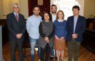 Alberto Reina y Francisco Navarro asisten a la cita del Ciclo Versus dedicada al teatro