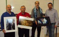 Los criptanenses Alfredo Díaz-Plaza, Ana María Campos y Mari Tere Ucendo, ganadores del XXV Certamen Nacional de Fotografía de Semana Santa