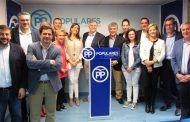La cúpula del PP de Ciudad Real muestra su apoyo a Cañizares para relevar a Cotillas