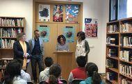 """Unos 250 escolares de Yuncler participan en el """"Maratón de Lectura sobre Igualdad"""" organizado por el Instituto de la Mujer"""