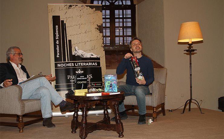 Juan Gómez-Jurado protagonizó anoche la segunda noche literaria de Paradores