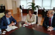 La consejera Patricia Franco se ha reunido con el director regional del Banco Sabadell