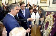 Inaugurada en Cuenca, con gran expectación, la exposición de la corona de la Virgen de las Angustias para su Coronación Canónica