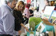 Rosa González de la Aleja inaugura la Feria Ibérica de Agricultura Biodinámica