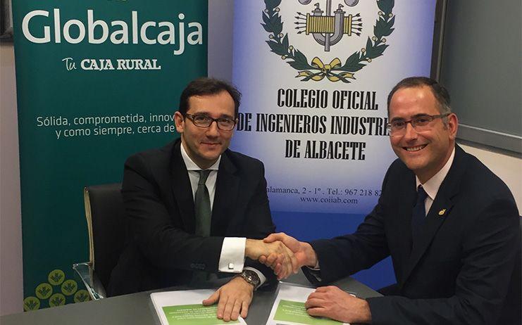 Globalcaja renueva su acuerdo con el Colegio Oficial de Ingenieros Industriales de Albacete (COIIAB)