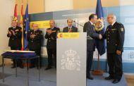 Gregorio asiste a la toma de posesión del Comisario José Arroyo Arroyo como Jefe de la Comisaría del CNP en Guadalajara