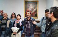 El PCE inaugura una exposición de arte en Toledo