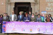 La Corporación de Talavera de la Reina guarda un minuto de silencio por el asesinato de tres mujeres, víctimas de violencia de género en abril