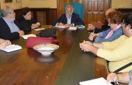 Ramos se reúne con los representantes de la Federación  de Asociaciones de Vecinos Vega del Tajo