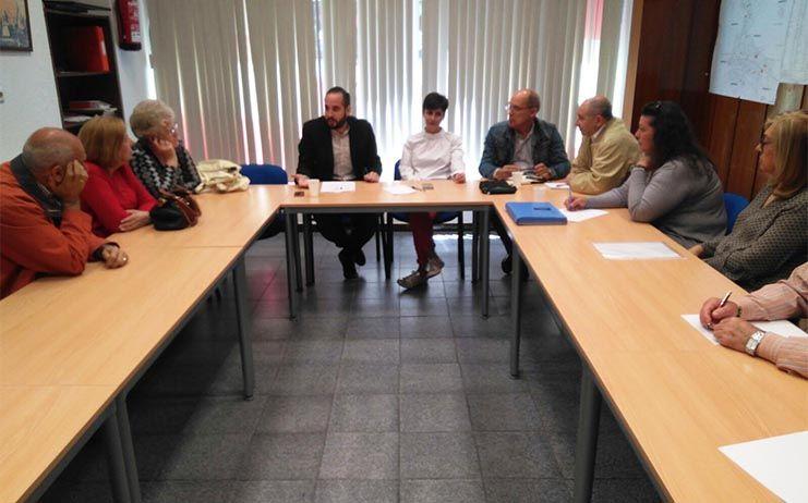 """El PSOE de Puertollano traslada a la FASVEP su compromiso y el del Gobierno regional para que el nuevo Hospital """"sea una realidad cuanto antes"""""""