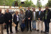González Vilches  y Serrrano asisten a un encuentro de amigos del Camino de Santiago