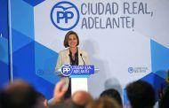 Cospedal asegura que desde el PP trabajamos para que el crecimiento económico que vivimos en España se siga convirtiendo en creación de empleo